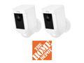A Ring Spotlight Outdoor Wireless Surveillance Camera from Home Depot