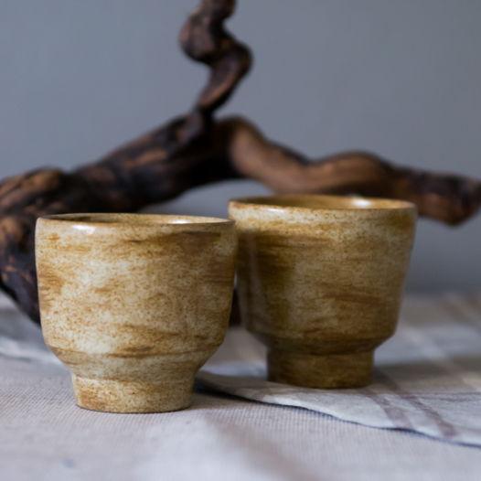 Чашки для чая в японском стиле
