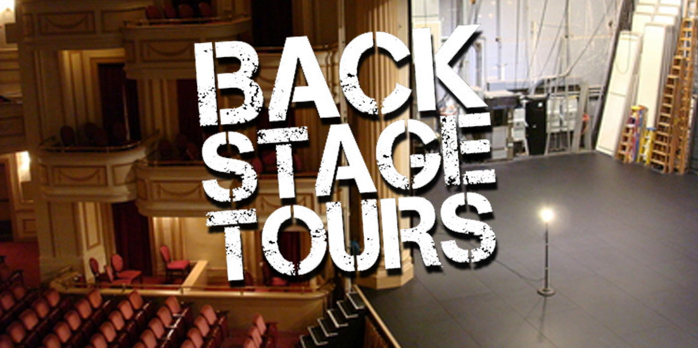 Backstage Tour Thursday at the Shubert Theatre