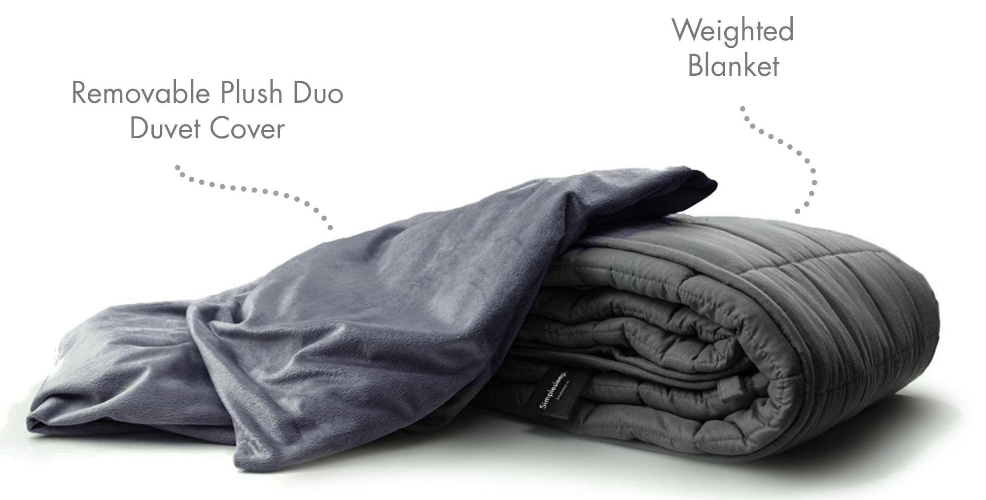 Duo Duvet Cover Only Simplesleep Weighted Blankets