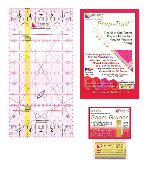 Perfect4Pattern Set with 1 Guidelines Ruler