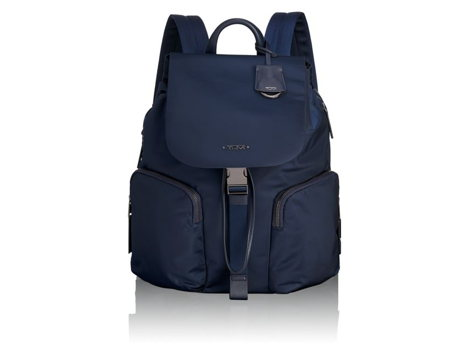 Tumi Navy Rivas Backpack, Voyageur Collection