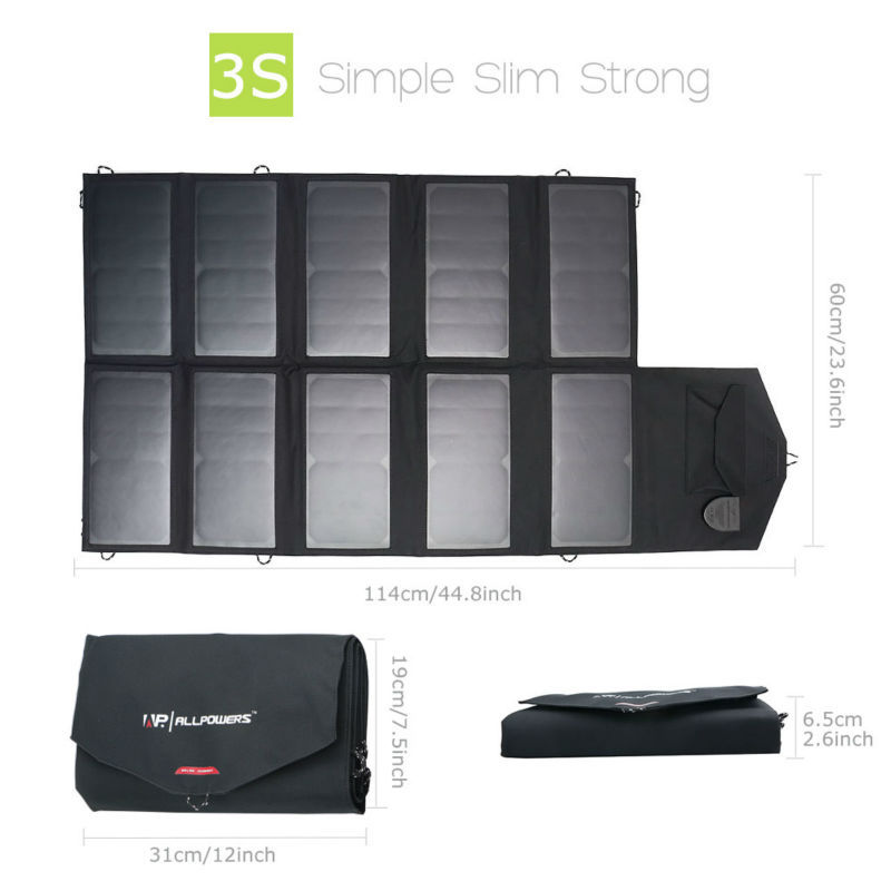 Allpower 60w Solar Panel Charger Review Slant