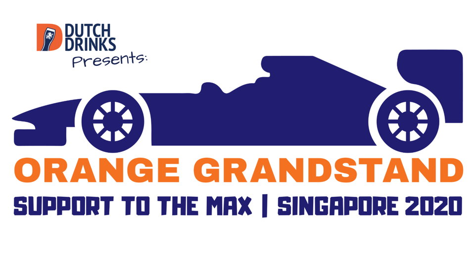 Orange grandstand - Support to the Max