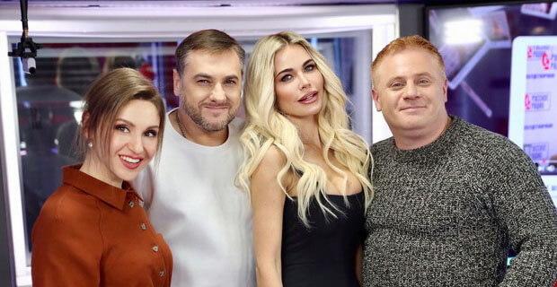 Певица Лана Свит в гостях у «Русских Перцев» на «Русском Радио» - Новости радио OnAir.ru