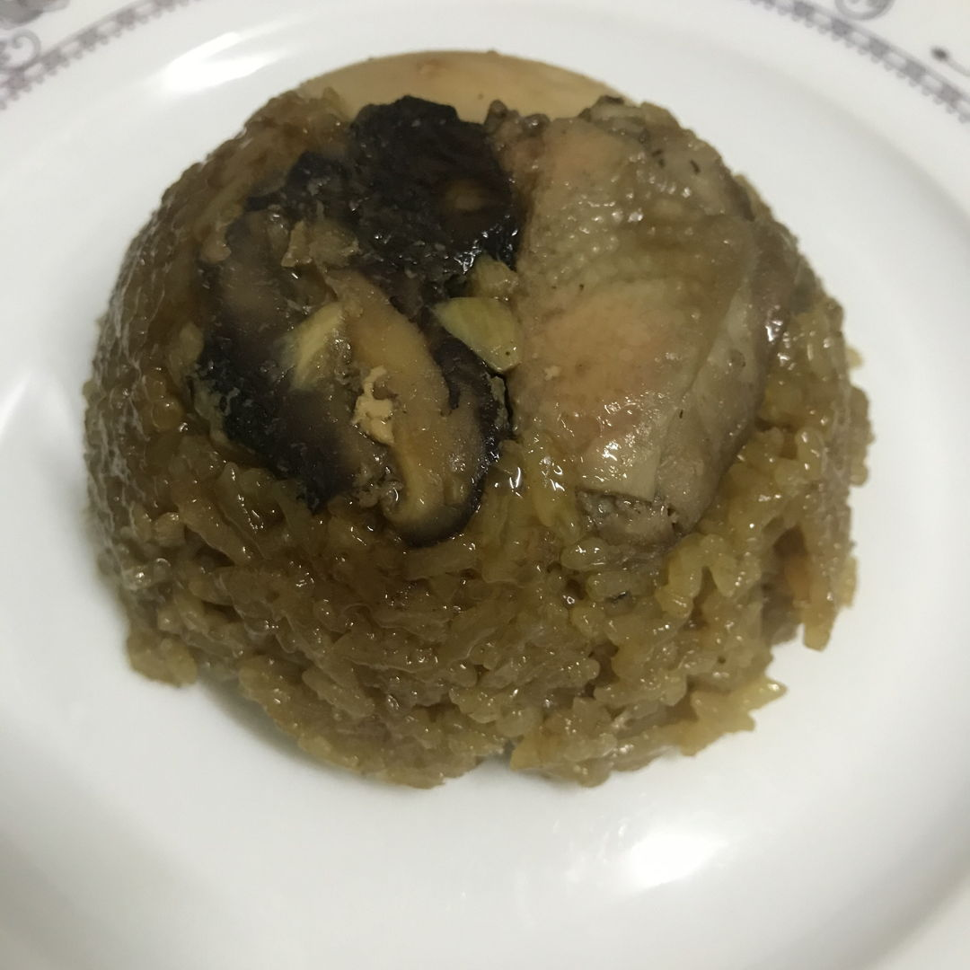 Home made LMK (glutinous rice)