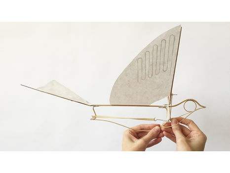 Haptic Lab Flying Martha Ornithopter