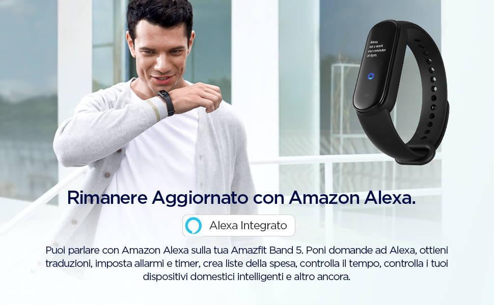Amazfit Band 5 - Tutto ciò che devi sapere grazie ad Amazon Alexa