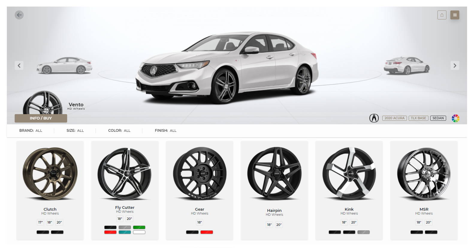 HD Wheels Vehicle Visualizer Configurator See what your wheels will look like on your vehicle before you buy!