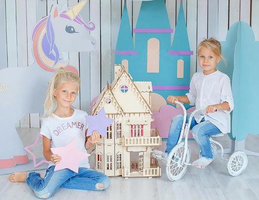 Кукольный домик. Чудо-дом