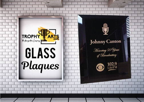 Glass Plaques