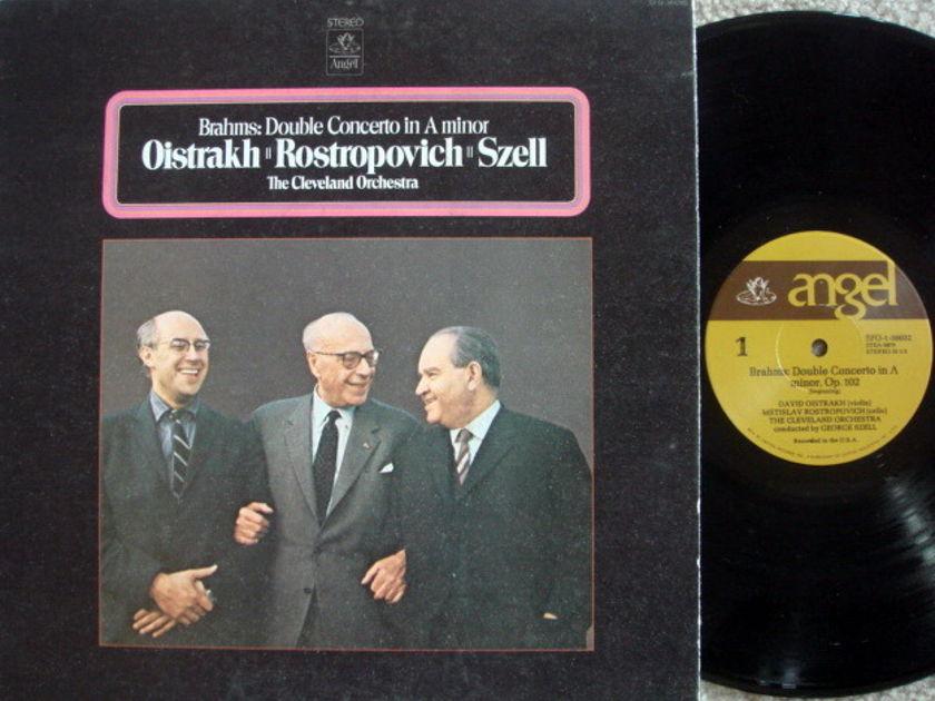 EMI Angel / OISTRAKH-ROSTROPOVICH-SZELL, - Brahms Double Concerto, EX!