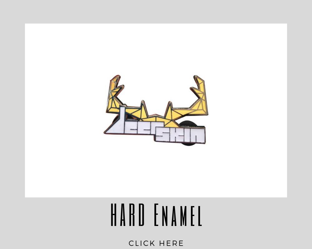 custom corporate hard enamel lapel pins
