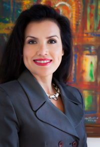Cecile Munoz: It gives clients the impression they're getting the best advice humanly possible.