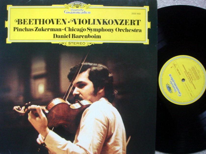 DG / ZUKERMAN-BARENBOIM, - Beethoven Violin Concerto, NM!