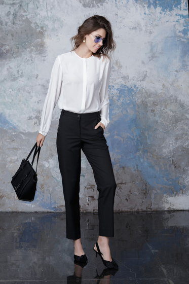 Блузка белая Bonali 3072-0553