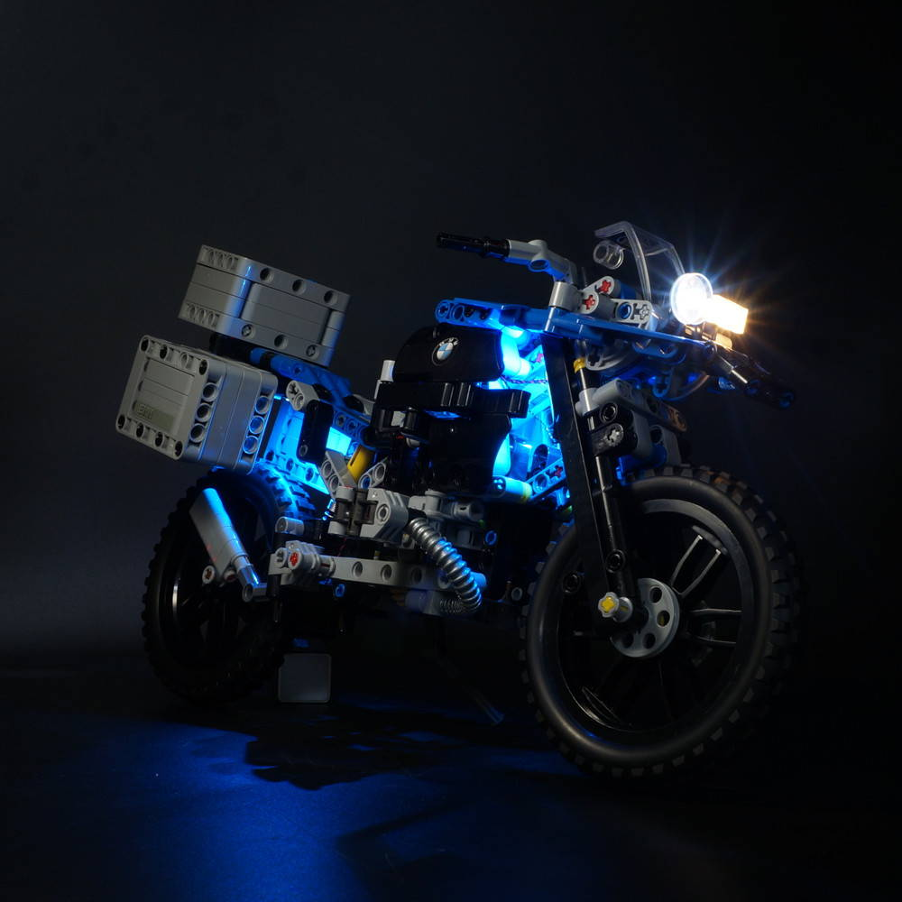 LEGO BMW R 1200 GS Adventure 42063 light kit