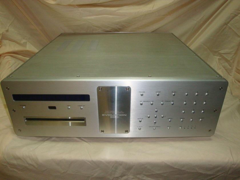 Krell Evolution 525av CD/DVD with 1080p Multi Channel Player in new  condition - 240v