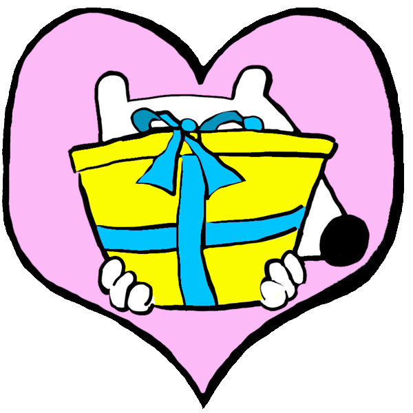 stinky dog loves to give back - big heart gifts
