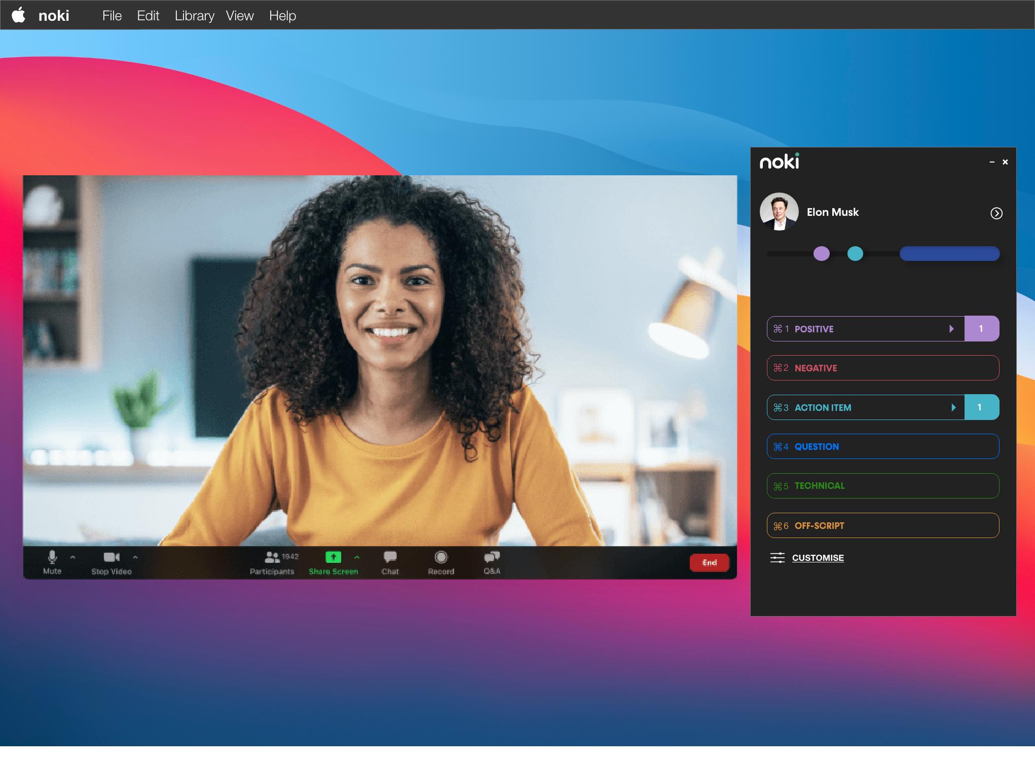 Screen demo