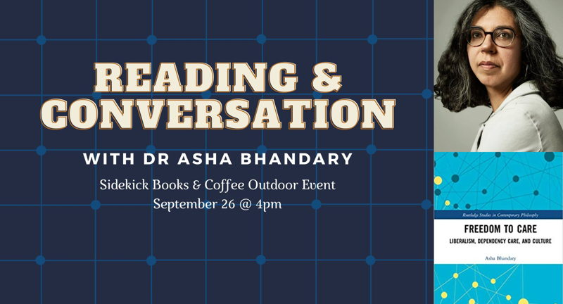 Reading & Conversation with Dr. Asha Bhandary