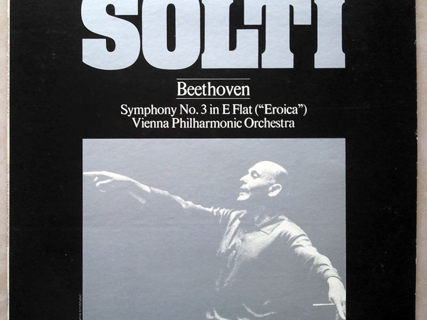 "London ffrr | SOLTI/BEETHOVEN - Symphony No. 3 ""Eroica"" / NM"