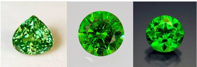 Demantoid garnet yves lemay jewelry