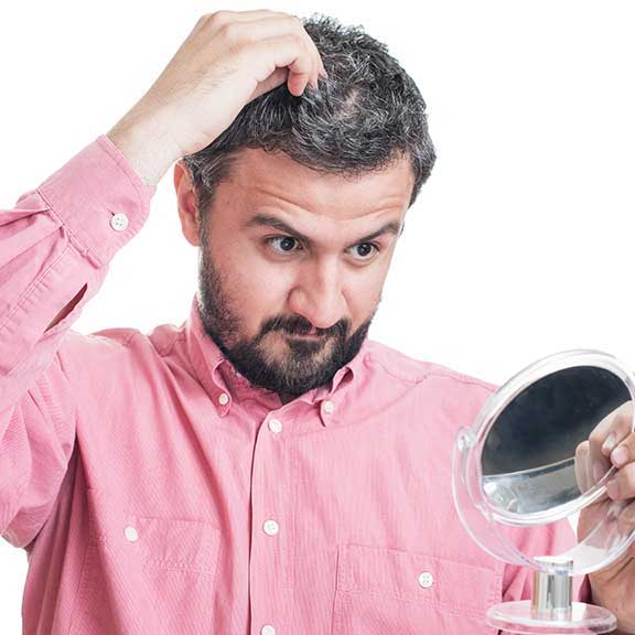 hair pull test image