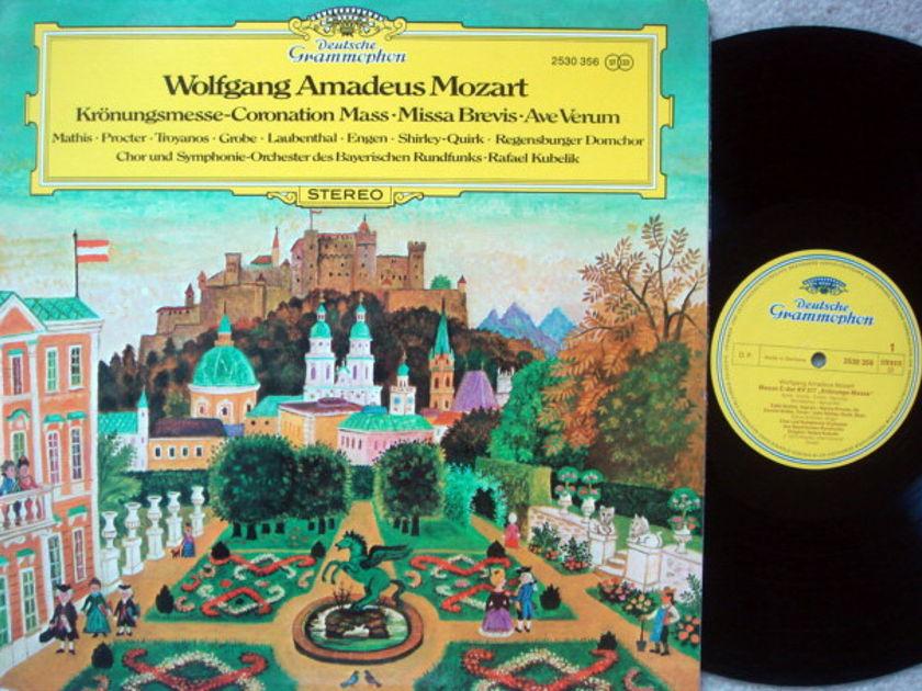DG / RAFAEL KUBELIK, - Mozart Coronation Mass, NM!