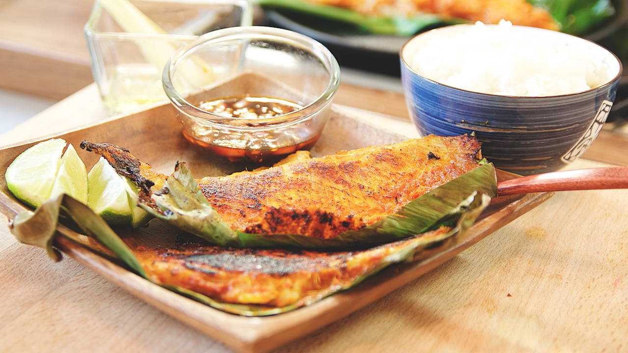 Grilled Stingray