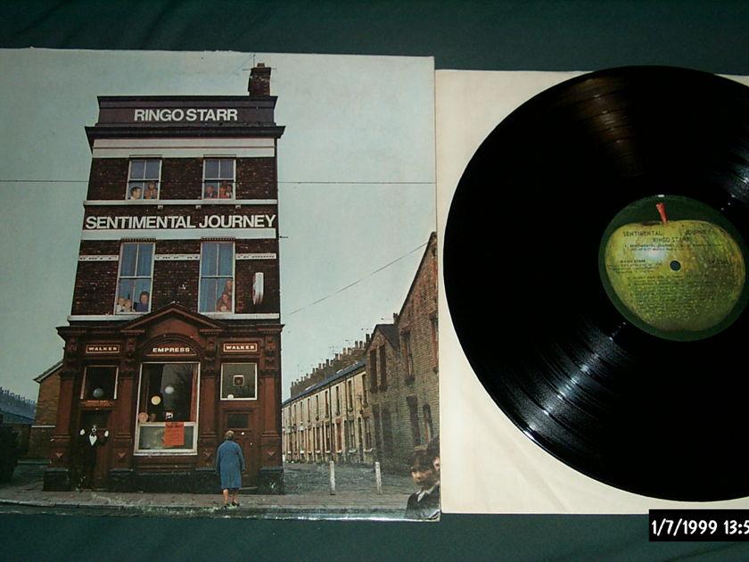 Ringo Starr - Sentimental Journey Apple Records LP NM
