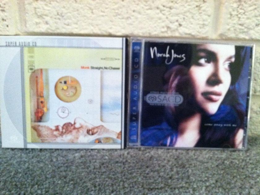 Norah Jones & Thelonious Monk - Lot of 2 SACD Free Shipping & Free Paypal