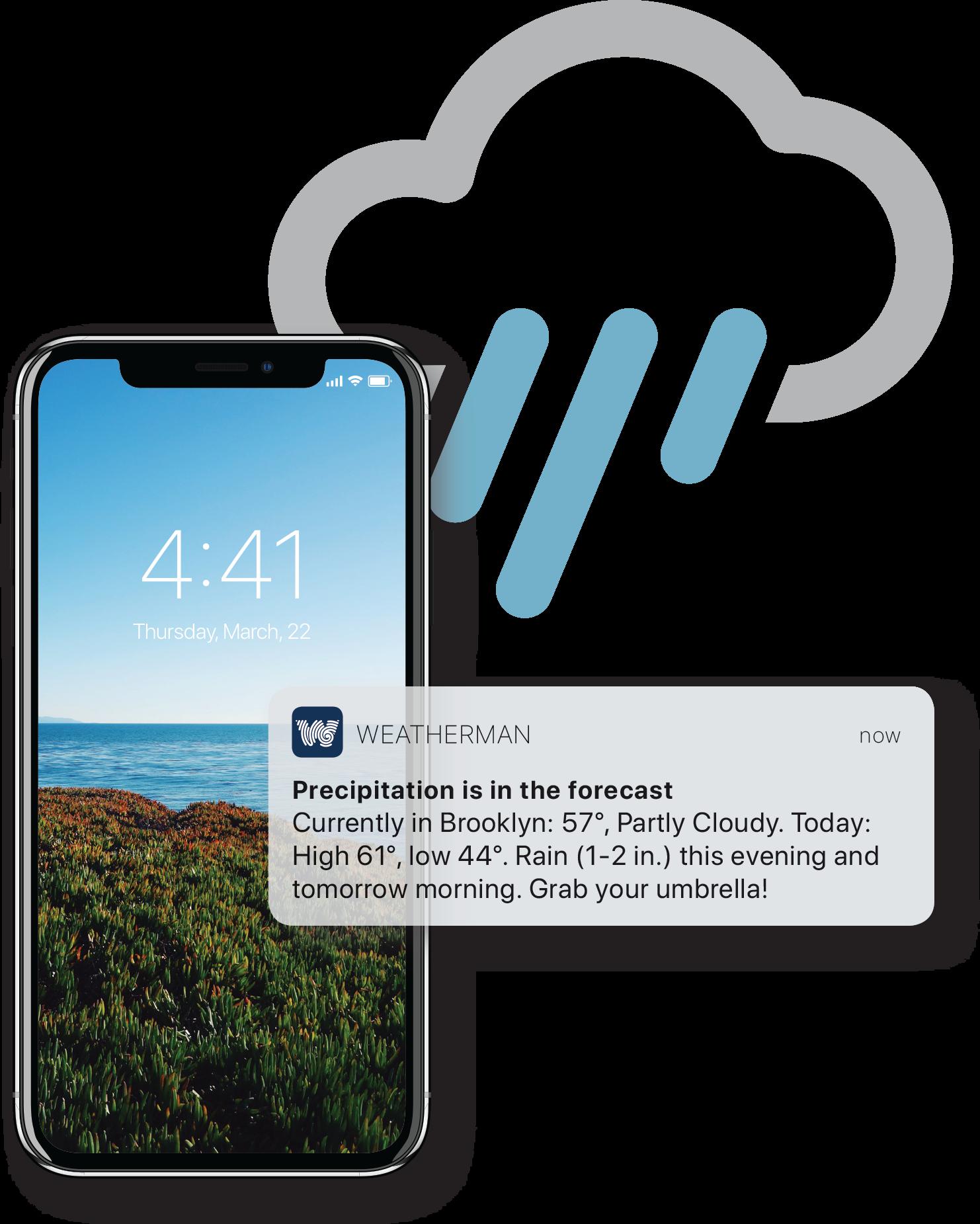 Weatherman | Mobile app