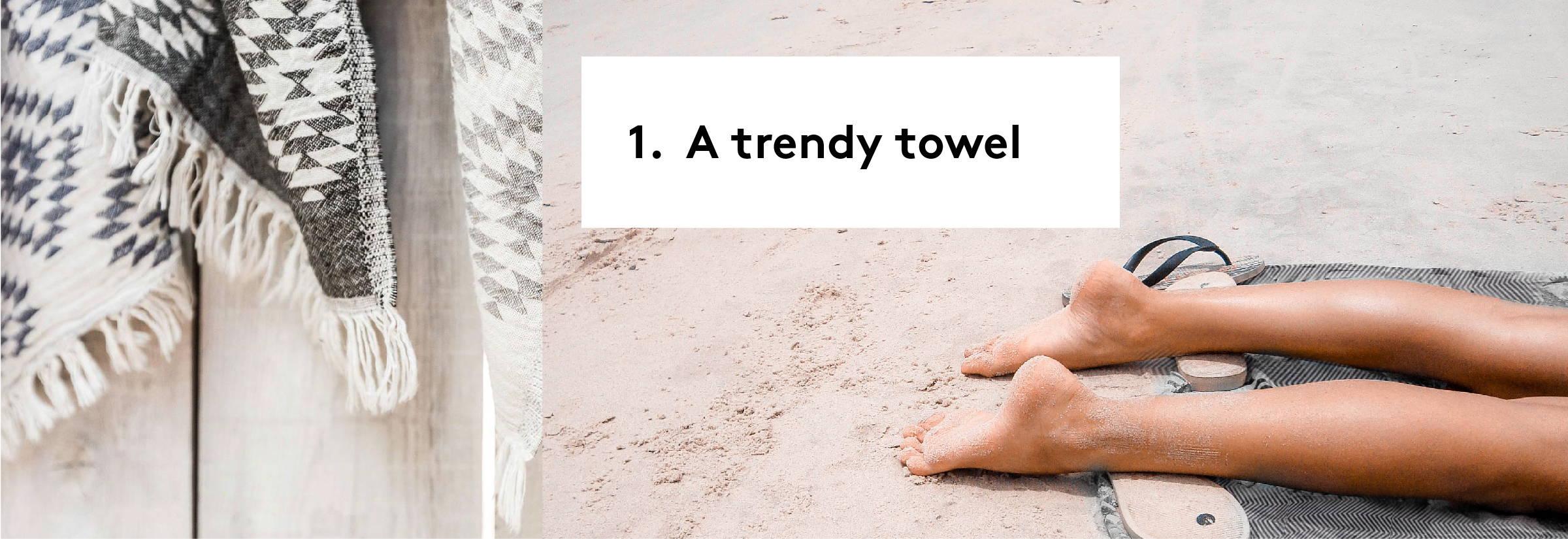 Get the TRENDY TOWEL from POKOLOKO!