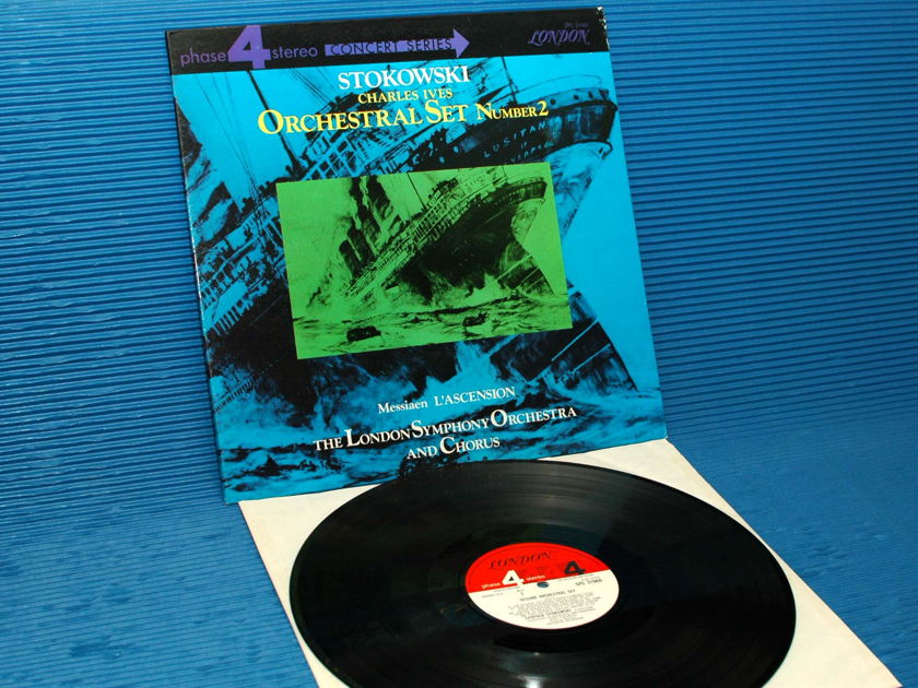 "IVES/Stokowski -  - ""Orchestral Set 2"" -  London Phase 4 1968"