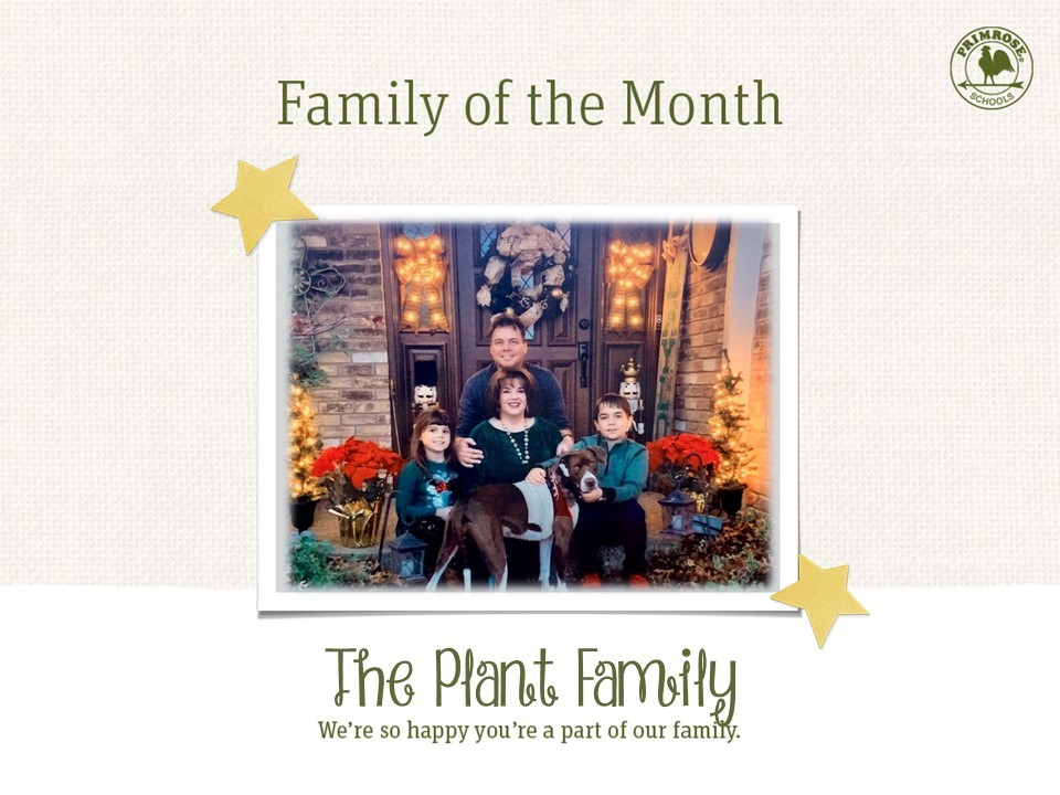 family of four march family of the month daugher father son mother happy explorer preston meadow primrose family