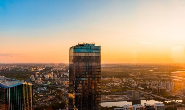 Экскурсия на открытую смотровую площадку  Москва-сити в башне ОКО
