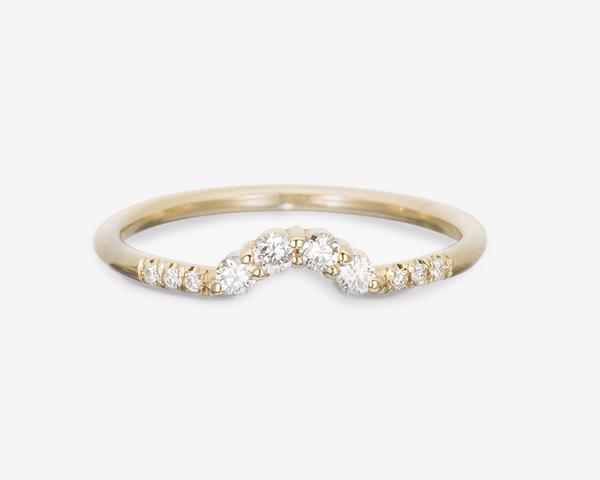 Consider the Wldflwrs | Diamond Arch Ring