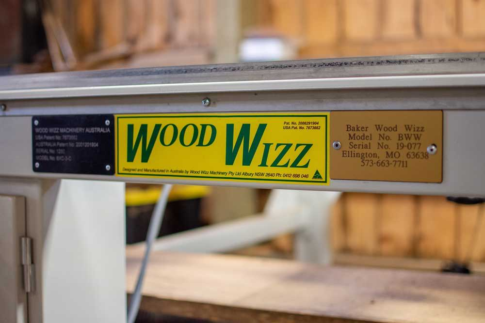 Wood Wizz Mill in the High West Wood Products wood shop