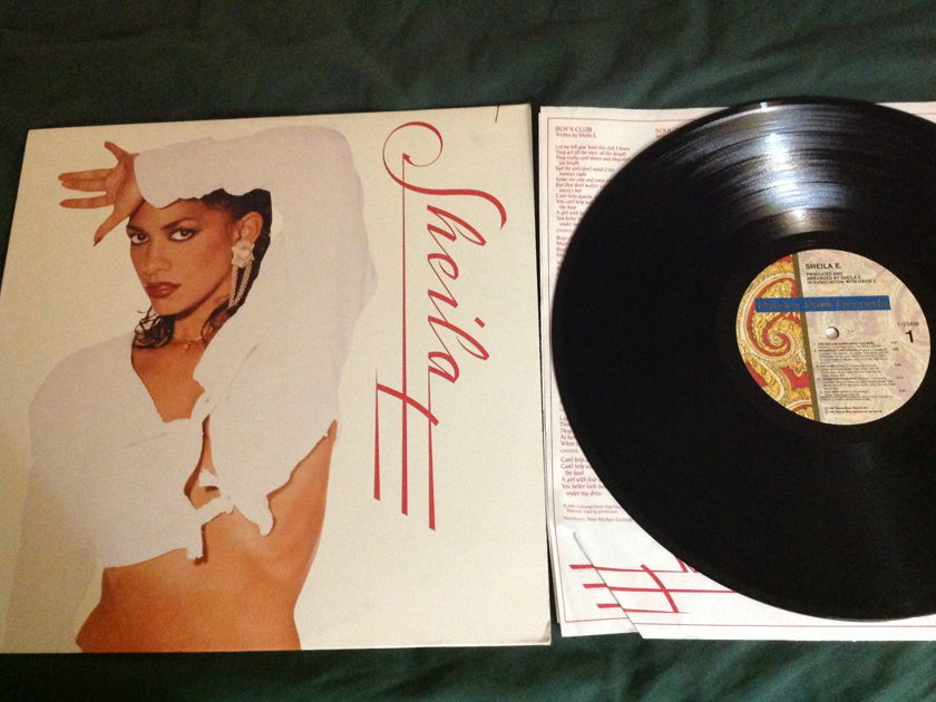 Sheila E. - S/T  LP NM Paisley Park Label