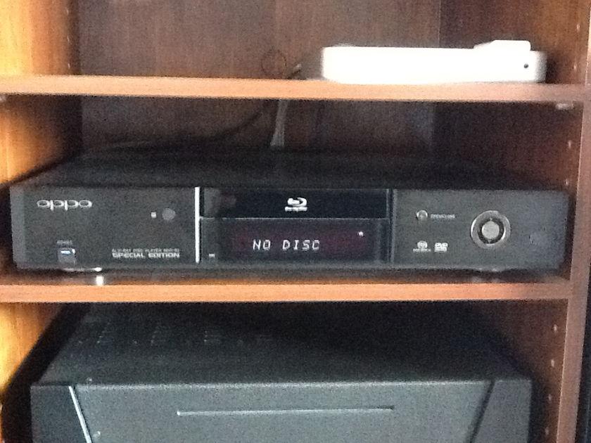 Oppo BDP-83 SE Blu-Ray Special edition XLR mod