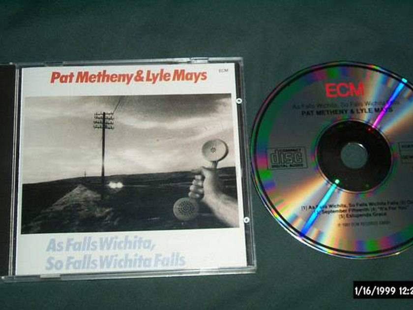 Pat Metheny - As Falls Wichita ecm germany 1st issue cd