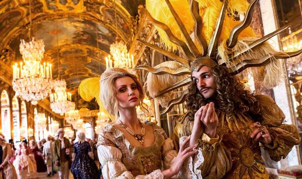 Один день из жизнь Людовика XIV, дворец Версаль