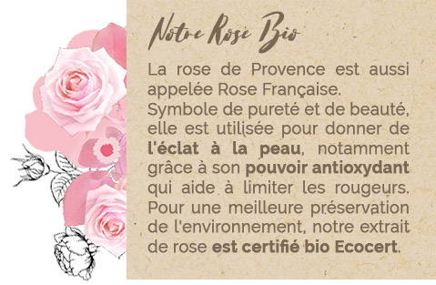 Notre Rose Bio - Mademoiselle Provence