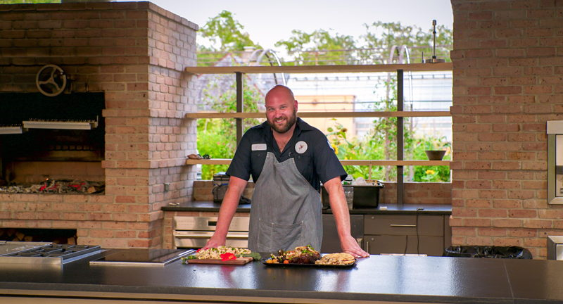 """""""Cooking With Fire"""" with Chef Pat White"""