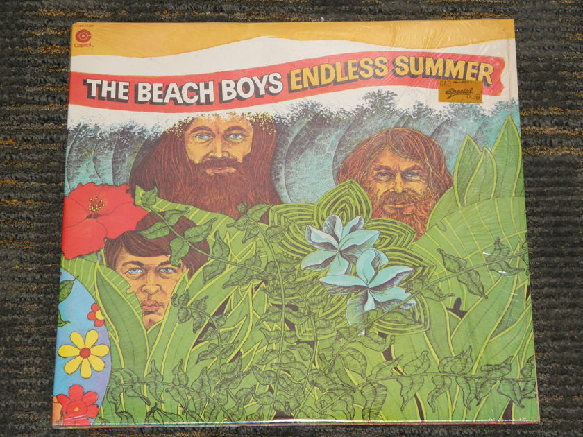 "The Beach Boys - ""Endless Summer"" 2LP set in Gatefold cover. Capitol SWBB 11307 STILL IN SHRINK"