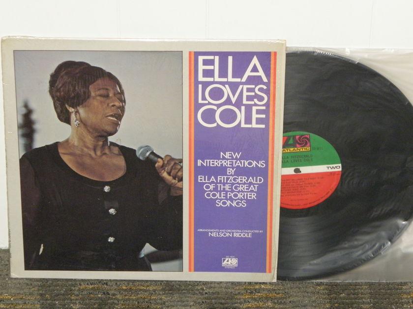 """Ella Fitzgerald - """"Ella Loves Cole"""" Atlantic SD 1631 1841 Broadway Orig Pressing. -A /-A matrix"""