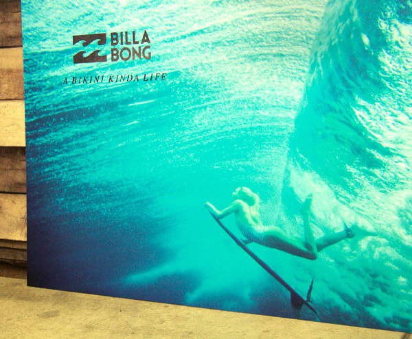 Art & Posters - Billa Bong Surfing Canvas Print
