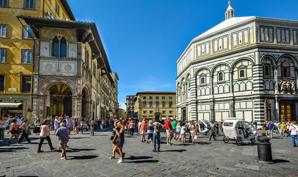 Обзорная экскурсия по Флоренции с посещением тосканской виллы и кантины.
