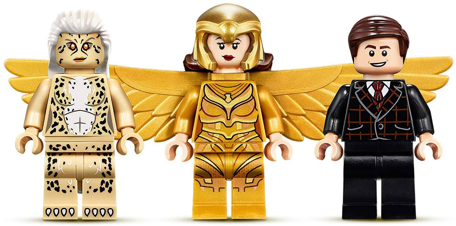 Wonder Woman and Cheetah mminifigs